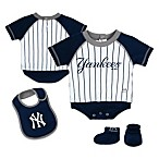 MLB® New York Yankees Creeper, Bib and Bootie Set by adidas®