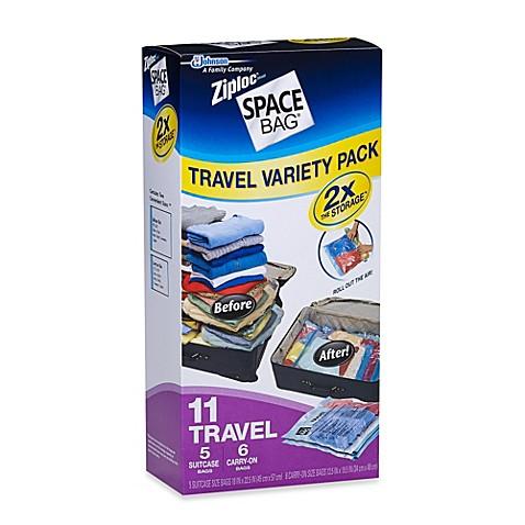 Ziploc 174 Space Bag 174 11 Piece Travel Combo Set Bed Bath