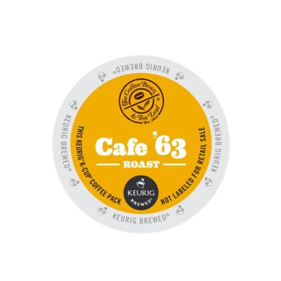 Keurig® K-Cup® Pack 16-Count The Coffee Bean & Tea Leaf® Café '63 Light Roast Coffee