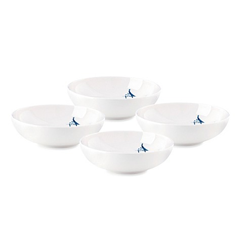 Scalamandre by Lenox® Toile Tale Sky Blue 5-Inch Fruit Bowls (Set of 4)