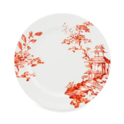 Scalamandre by Lenox® Toile Tale Sienna 11.5-Inch Dinner Plate