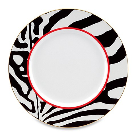 Scalamandre by Lenox® Zebras 9-Inch Accent Plate