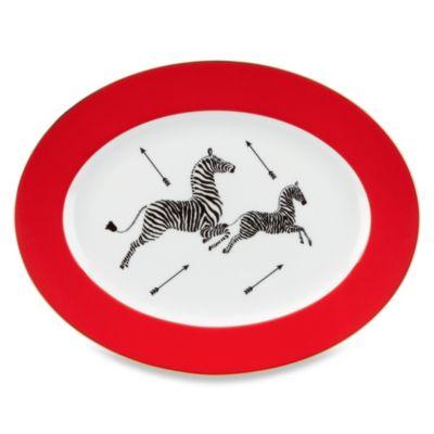 Scalamandre by Lenox® Zebras 13-Inch Oval Platter