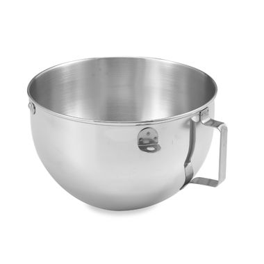 KitchenAid® 5-Quart Polished Bowl with Flat Handle for 5-Quart Stand Mixers