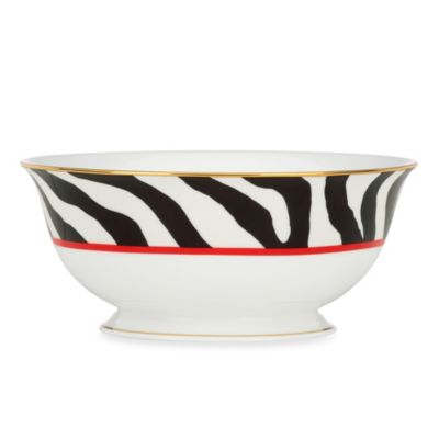 Scalamandre by Lenox® Zebras 56-Ounce Serving Bowl