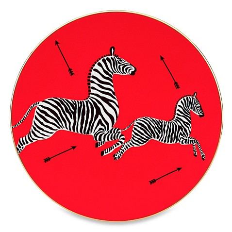 Scalamandre by Lenox® Zebras 8-Inch Salad Plate