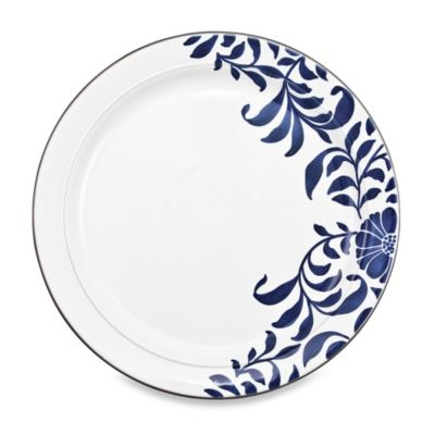 Denby Malmo Bloom Accent 10.5-Inch Dinner Plate