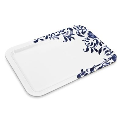 Denby Malmo Bloom Accent Rectangular Platter