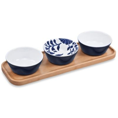 Denby Malmo Bloom Accent Dipping Bowl (Set of 3)