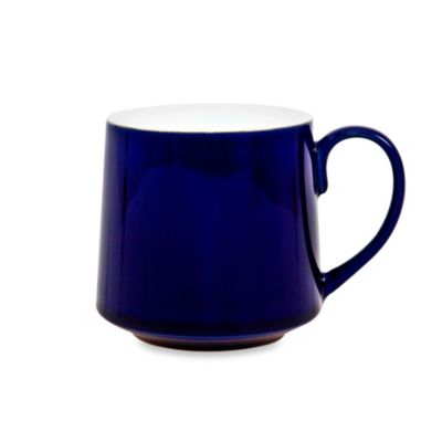 Denby Malmo 10-Ounce Mug in White/Blue