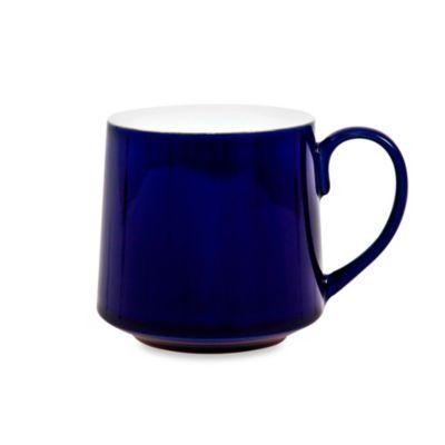 Denby Malmo 10-Ounce Mug in White/Blue