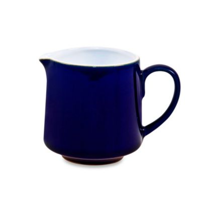 Denby Malmo Creamer in White/Blue