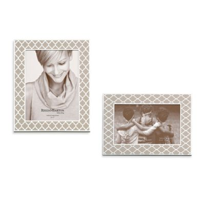 "Reed & Barton 5"" x 7"" Kasbah Frame in Chai"