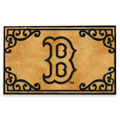 Boston Red Sox Door Mat