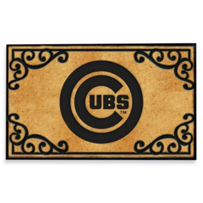 Chicago Cubs Door Mat