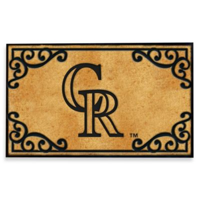 Colorado Rockies Door Mat