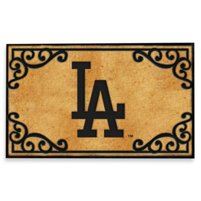 Los Angeles Dodgers Door Mat