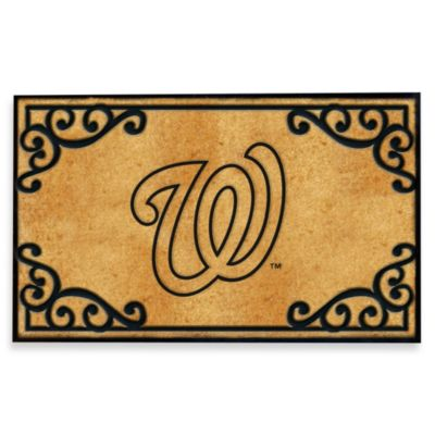Washington Nationals Door Mat