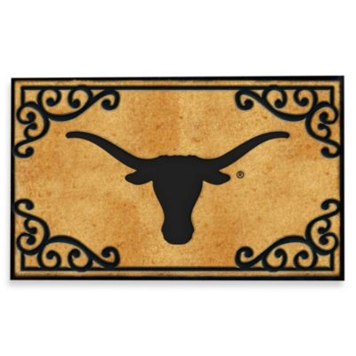 University of Texas Coir Fiber Door Mat