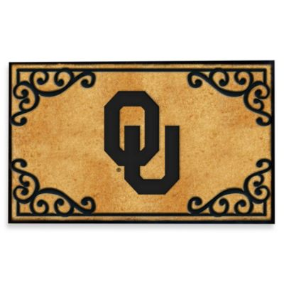 University of Oklahoma Coir Fiber Door Mat