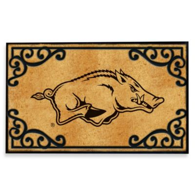 University of Arkansas Coir Fiber Doormat