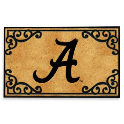 University of Alabama Coir Fiber Door Mat