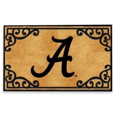 University of Alabama Coir Fiber Door Mat
