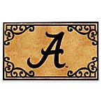 University of Alabama Coir Fiber Doormat