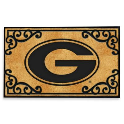 University of Georgia Coir Fiber Door Mat