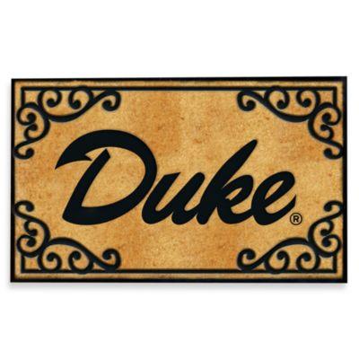 Duke University Coir Fiber Door Mat