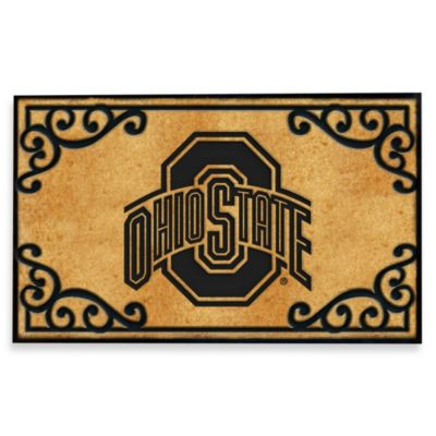 Ohio State University Coir Fiber Door Mat