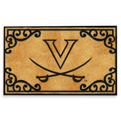 University of Virginia Coir Fiber Door Mat