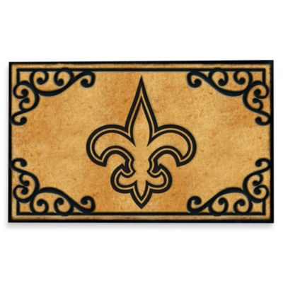 NFL New Orleans Saints Door Mat