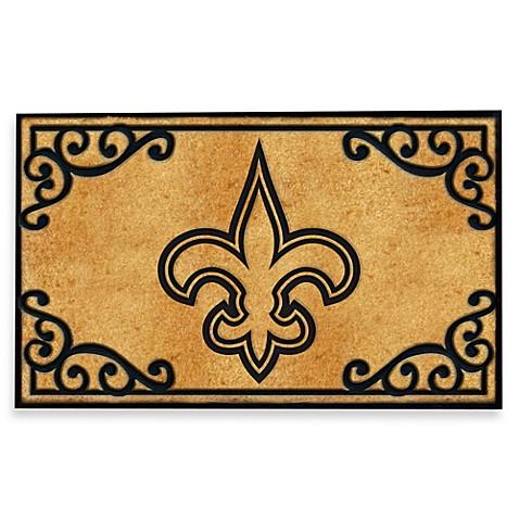 Buy Nfl New Orleans Saints Door Mat From Bed Bath Beyond