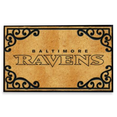 NFL Baltimore Ravens Door Mat