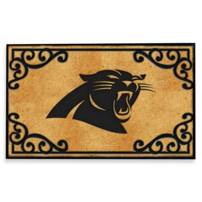 NFL Carolina Panthers Door Mat