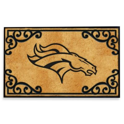 NFL Denver Broncos Door Mat