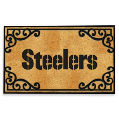 NFL Pittsburgh Steelers Door Mat
