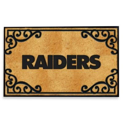 NFL Oakland Raiders Door Mat