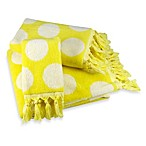 Polly Yellow Fingertip Towel