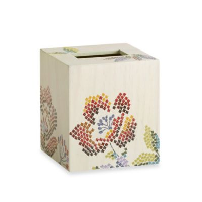 Croscill® Mosaic Floral Boutique Tissue Cover