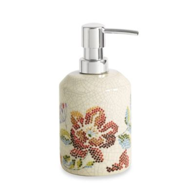 Croscill® Mosaic Floral Lotion Dispenser