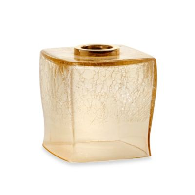 Croscill Candice Boutique Tissue Holder in Champagne