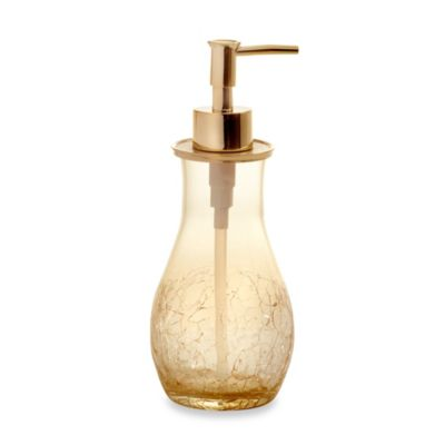 Croscill Candice Lotion Dispenser in Champagne