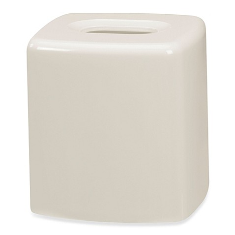 Buy Wamsutta Elements Boutique Tissue Holder In Ivory From Bed Bath Beyond