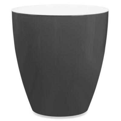 Wamsutta® Elements Waste Basket in Pewter
