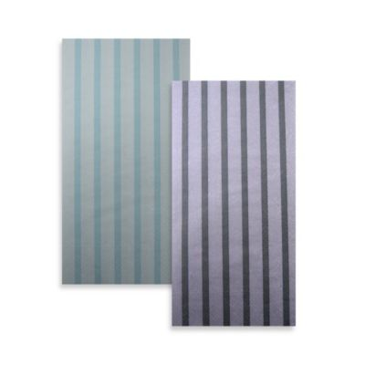 IHR Paper Guest Towels in Stripes Again