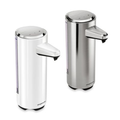 simplehuman® Rechargeable Bath Sensor Pump in Brushed Nickel