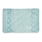 Esme Bath Rug in Spa Blue