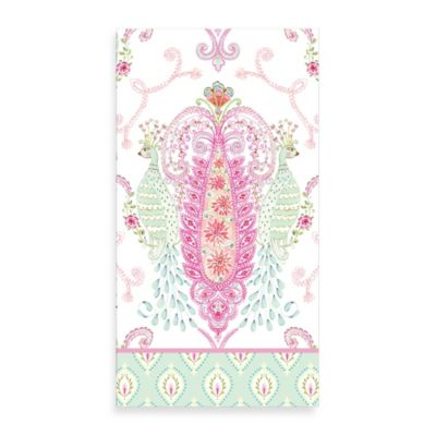 Peacock 3-Ply Pack of 16 Paper Guest Towels